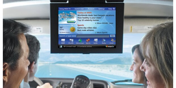 Autos werden zu WLAN-Hotspots