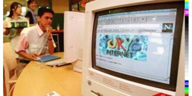 5.000 Japaner leben in Internetcafes
