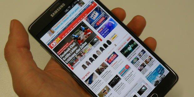 Smartphone ist Nr. 1 beim Internet-Surfen