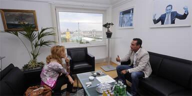 """Strache:""""Würde bei Gaddafi vermitteln!"""""""