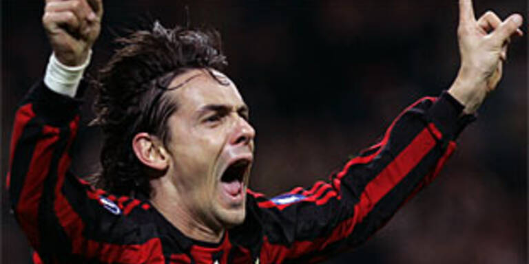 Inzaghi bester Europacup-Schütze der Geschichte