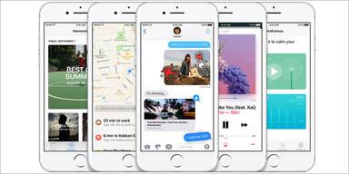 iOS 10 für iPhone und iPad startet
