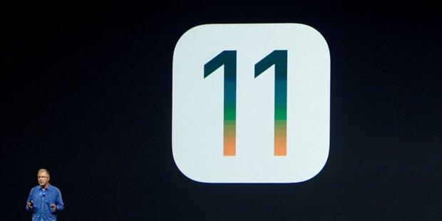 iOS 11: Alle neuen Top-Features im Überblick