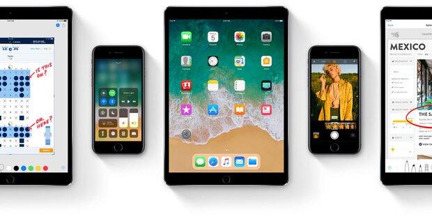 b77abe45ae iOS 11 Beta-Version Download ab sofort verfügbar