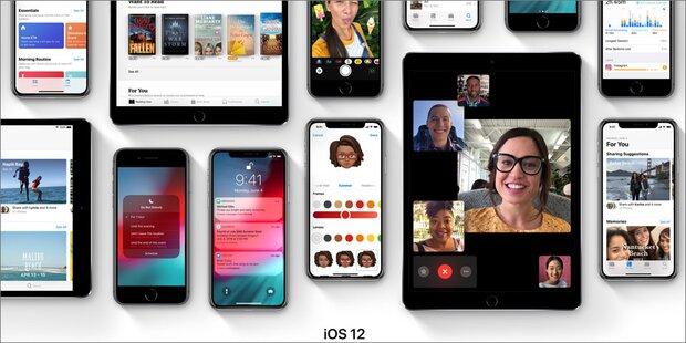 iOS 12 Test-Version ab sofort verfügbar