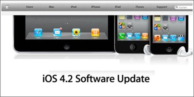 iOS 4.2 für iPhone & iPad verfügbar