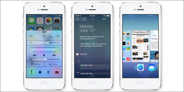 iOS 7 für iPhone und iPad ist da
