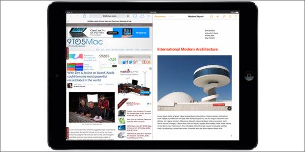 iOS 8 bekommt Split-Screen-Modus