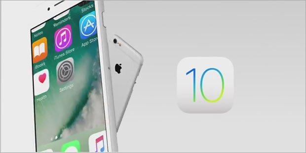 iOS 10 nicht für alle iPhones und iPads