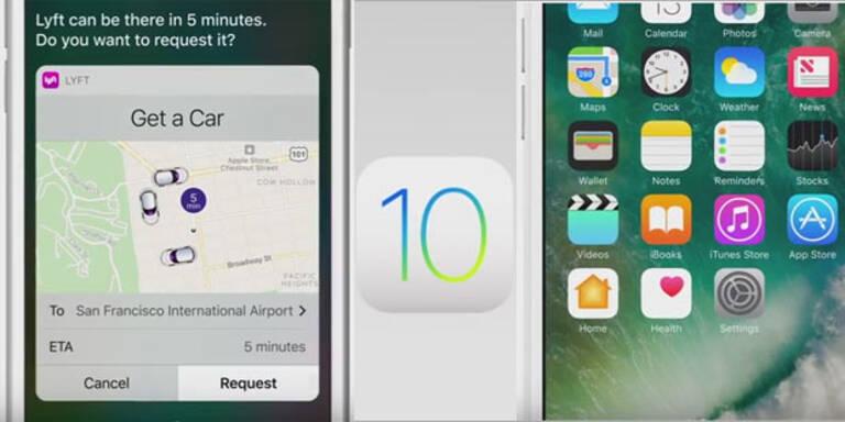 iOS 10: Alle Top-Features im Überblick