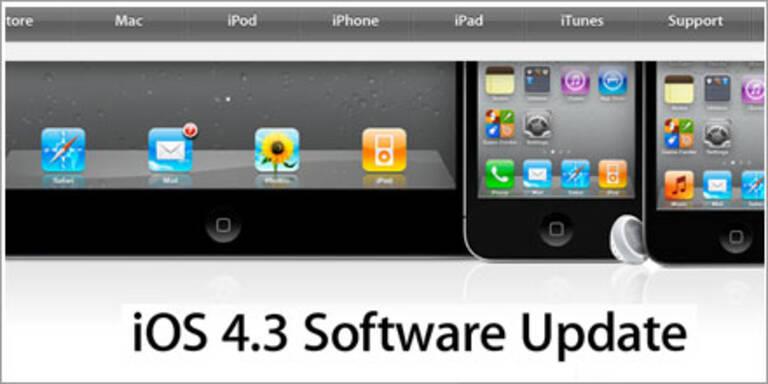 iOS 4.3 für iPad, iPhone & iPod verfügbar