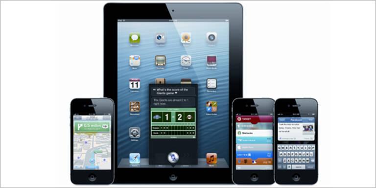 Apple iOS 6.1 für iPhone und iPad ist da
