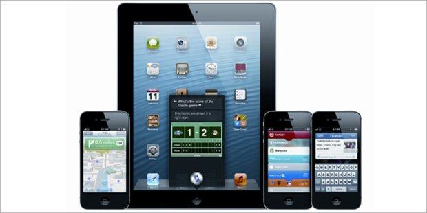 iOS 6 für iPhone, iPad und iPod touch ist da
