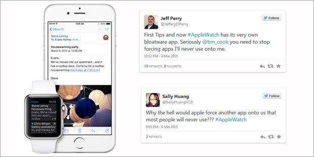 iOS 8.2: Shitstorm für Apple