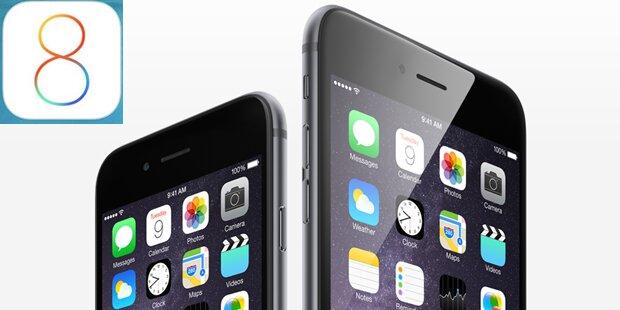 iOS 8 für iPhone und iPad ist da