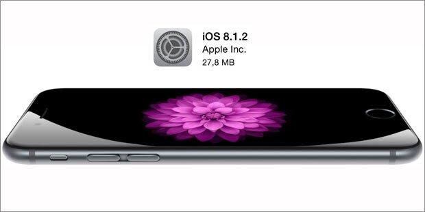 iOS 8.1.2 bringt Klingeltöne wieder