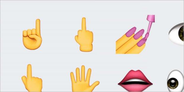 iOS 9.1 kommt mit Stinkefinger-Emoji