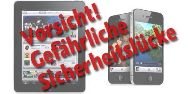 Gravierende iPhone- und iPad-Lücke!