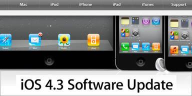 iOS 4.3.4 schließt gefährliche iPhone-Lücke