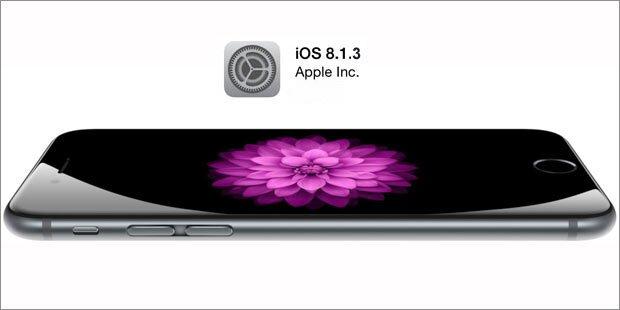 iOS 8.1.3 beseitigt Mega-Problem