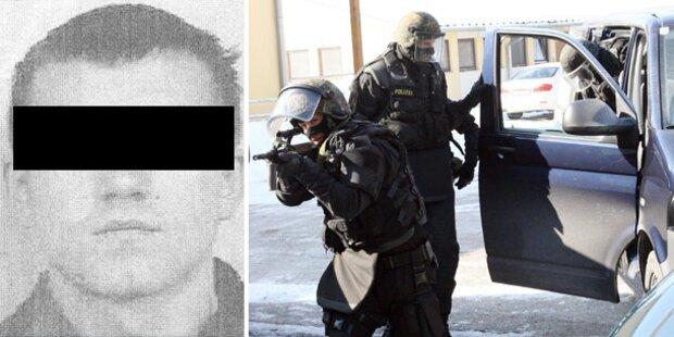 Profi-Killer bleibt in Österreich