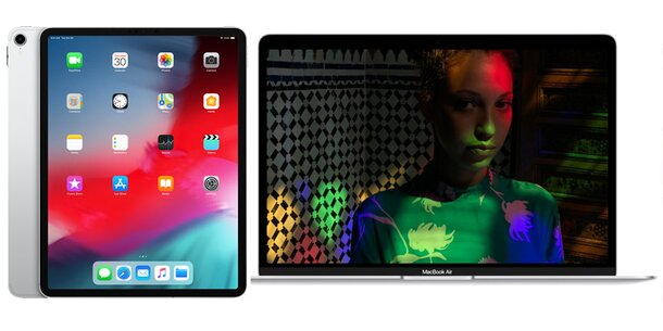 neues ipad pro und macbook air 2018 ab sofort in sterreich. Black Bedroom Furniture Sets. Home Design Ideas