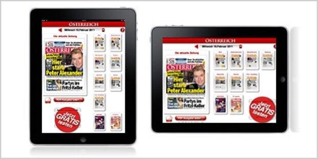 Die ÖSTERREICH-App für iPhone und iPad
