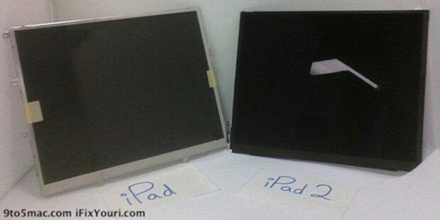 Erste Fotos vom iPad 2-Display aufgetaucht