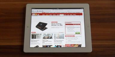 Das iPad 2 im großen oe24.at-Test