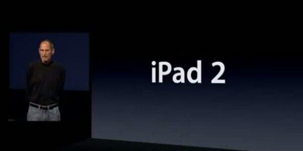 Steve Jobs stellt iPad 2 persönlich vor