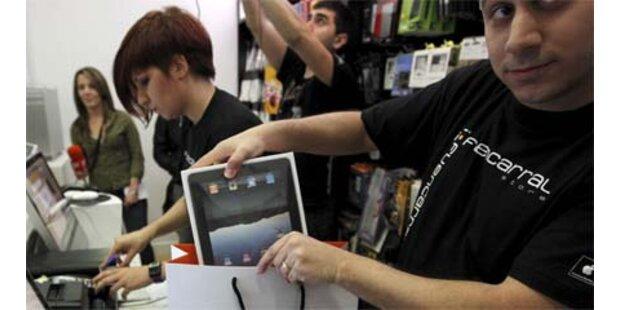 Apple verkaufte schon über 2 Mio. iPads