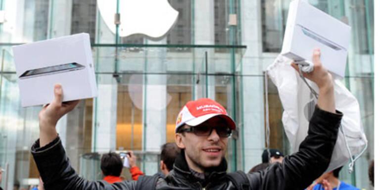 iPad 2 in den USA bereits ausverkauft