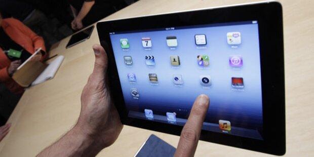 Tester vom neuen iPad begeistert