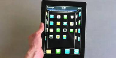 3D ohne Brille auf iPad 2 & iPhone 4