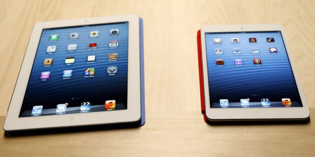 Apple verkaufte drei Millionen neue iPads