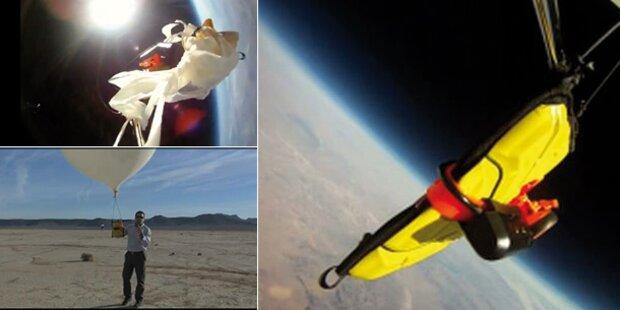 Video: iPad überlebt Absturz aus Weltall