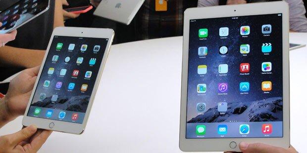 iPads waren Kartonschnipsel