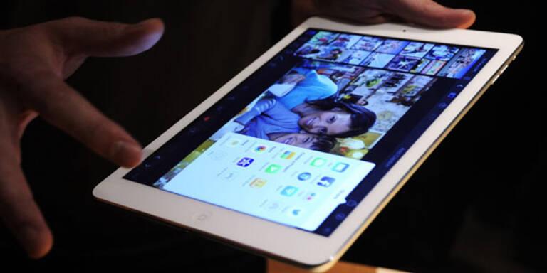 Brandneues iPad Air startet in Österreich