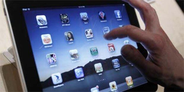 Amerikaner sind heiß aufs iPad