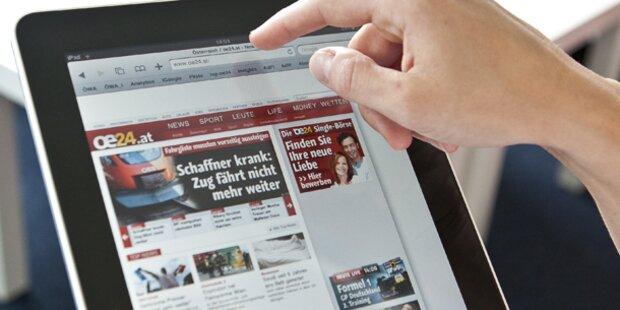 Nachrichten sind beliebteste Tablet-Apps