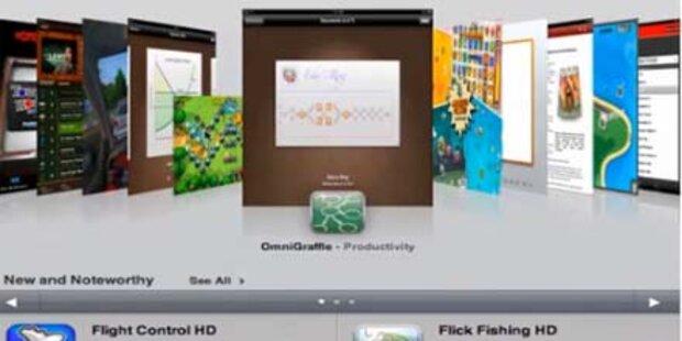 Video vom AppStore fürs iPad aufgetaucht
