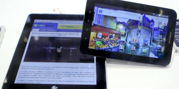 So nutzen Österreicher ihren Tablet-PC