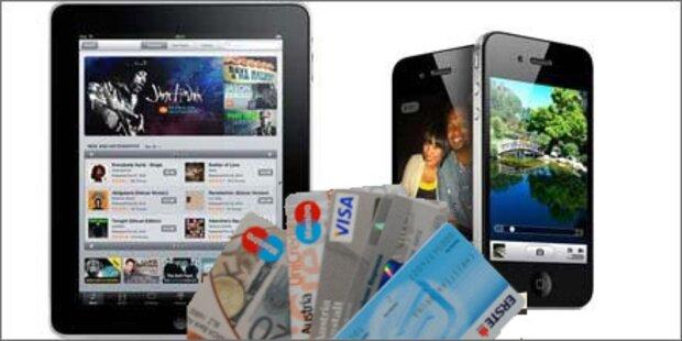 iPhone5 und iPad2 werden zu Kreditkarte