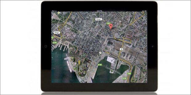 Oslo gegen HD-3D- Fotos für Apple Maps