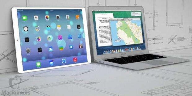 Apple will 12 Zoll großes iPad bringen