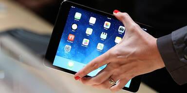 Apple stellt seine neuen iPads vor