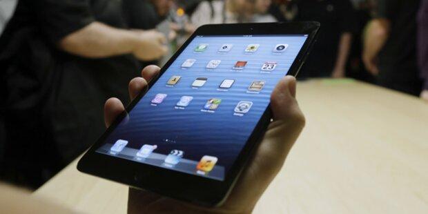 iPad mini ab heute bei uns