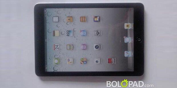 Fotos zeigen das fertige iPad Mini