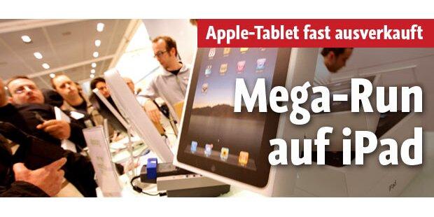 Weltweiter Ansturm auf das iPad