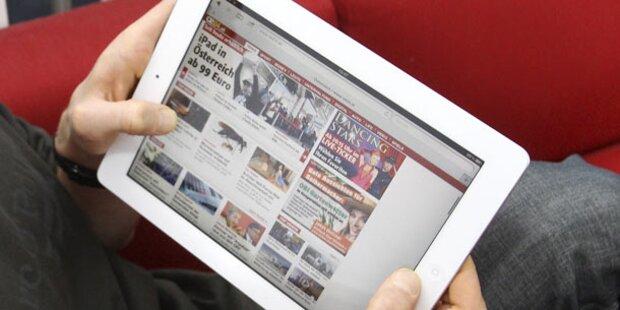 Jeder 5. Österreicher hat einen Tablet-PC